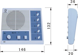 ip network intercom master station nls-510